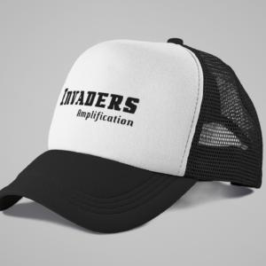 Trucker cap / Black & white